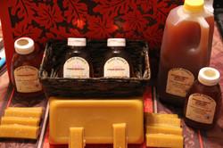Honey and wax