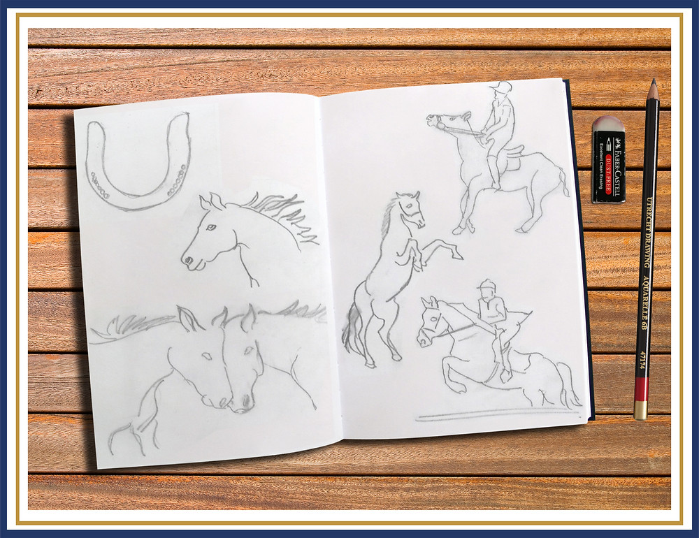 Sketches for Equestrian Lifestyle