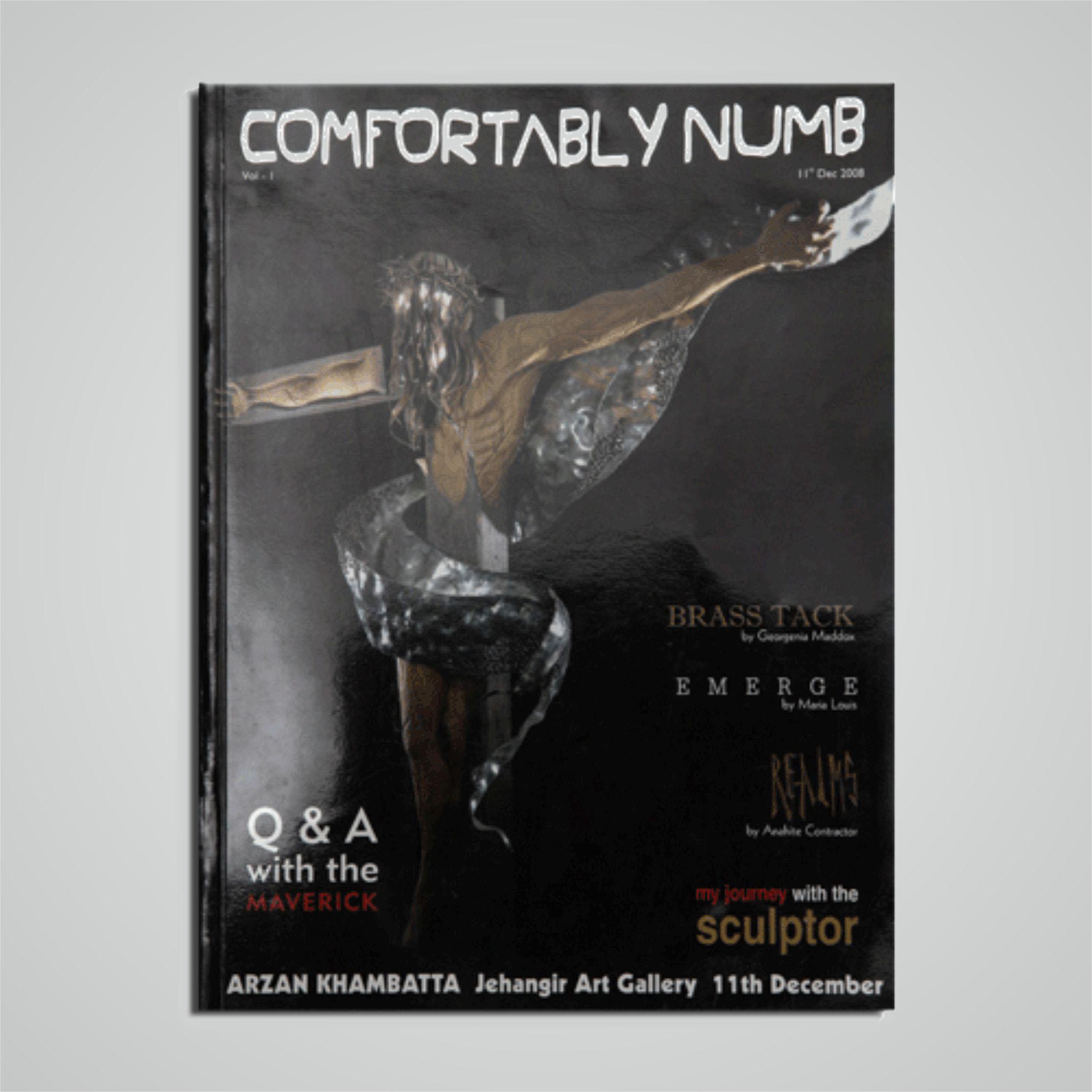 Comfortably Numb - Brochure - cover
