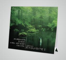 Exquisite - Tent Card