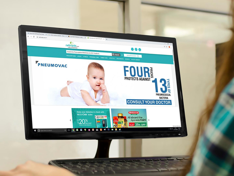 Web Banner on Medical Website 4