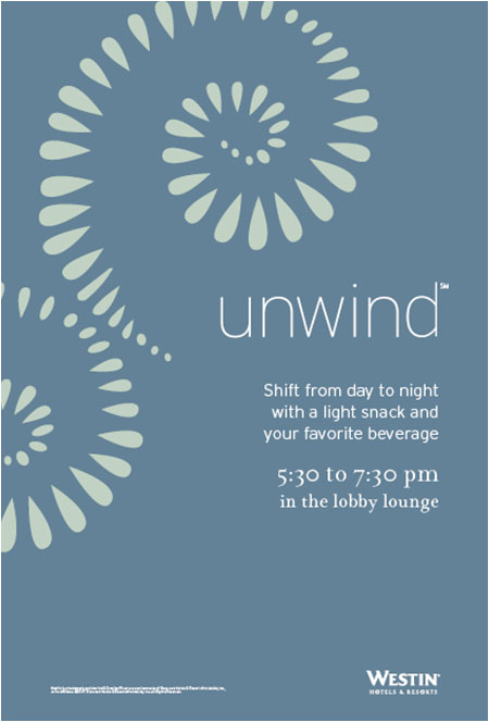 Unwind Elevator Counter Card Dark