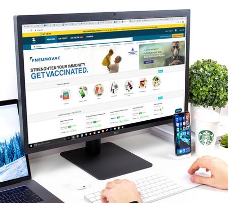 Web Banner on Medical Website 1