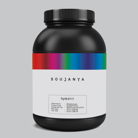 Sample Colourant Packaging