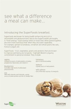 Super Food Fact Sheet