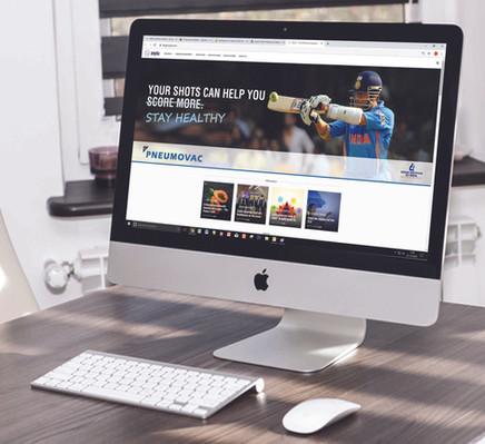 Web Banner on Medical Website 3