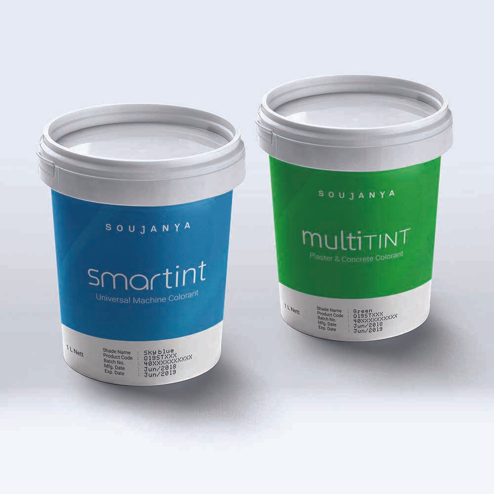 Multitint & Smartint Packaging