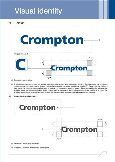 Crompton Visual Identity