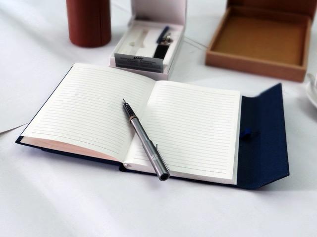 Birla Estates pad box open pen out