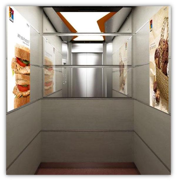 Elevator Interactive Display Poste