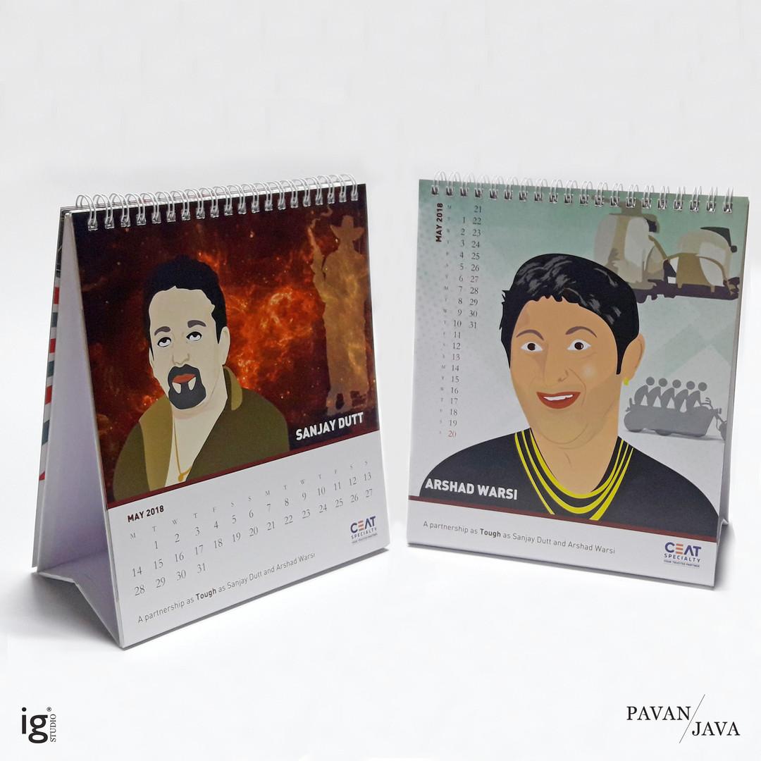 Ceat Domestic Desk Calendar 2