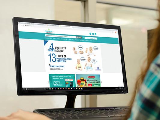 Web Banner on Medical Website 5