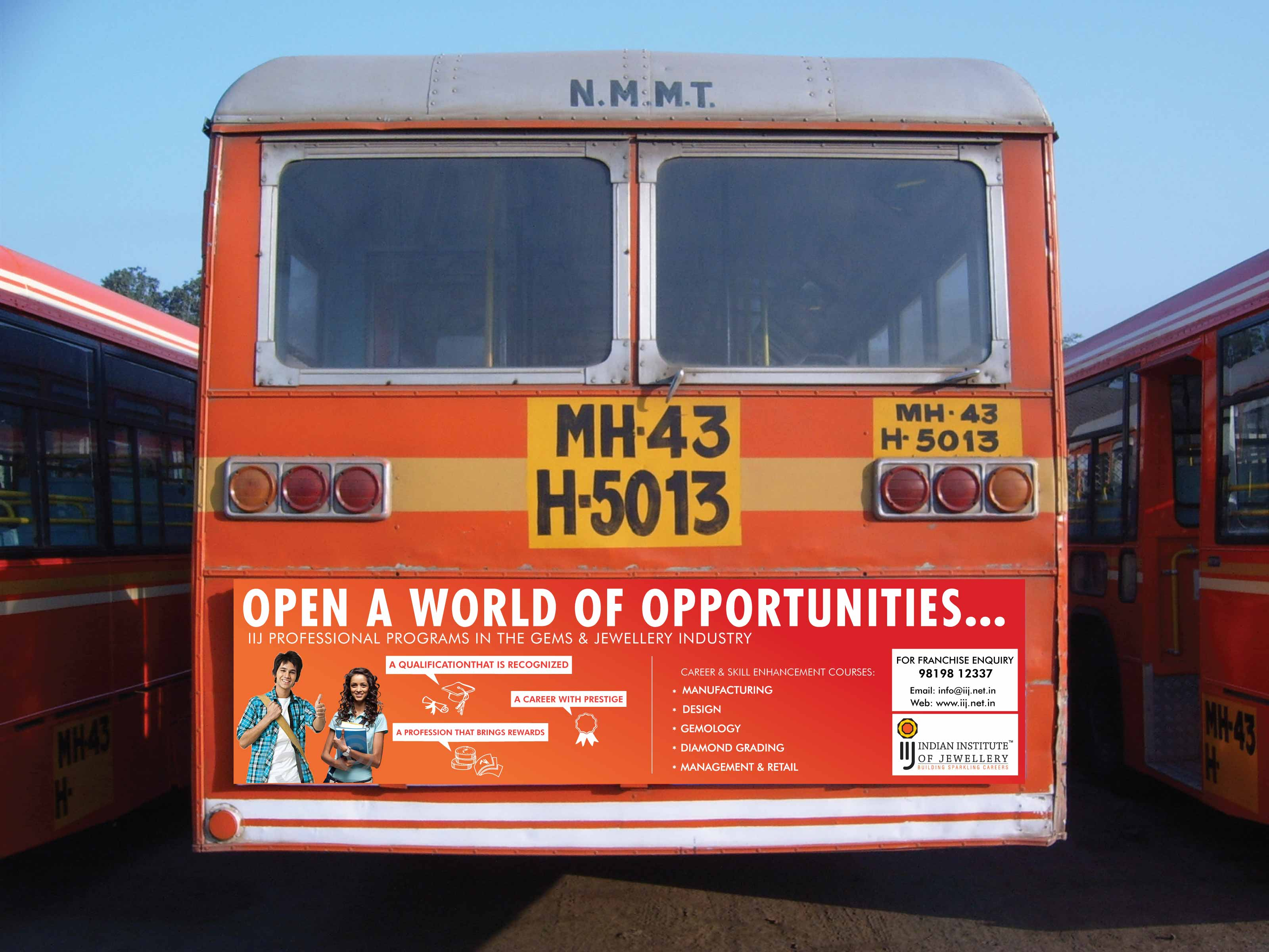 Bus - Back Panel