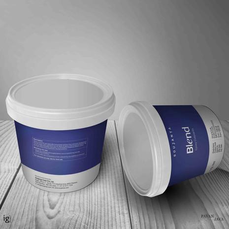 Blend Epoxy Floor Colorant Packaging