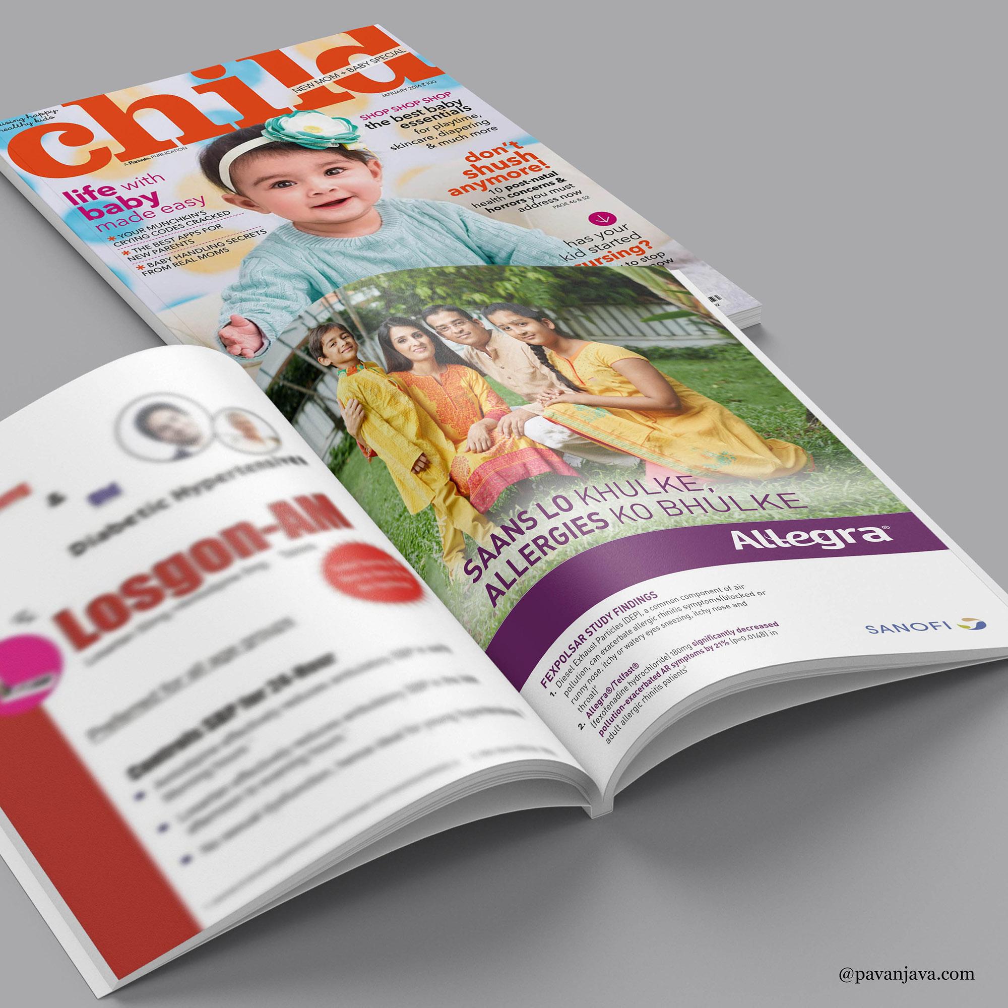 Allegra Print Advertisement