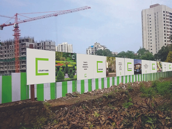Courtyard Site Signage 1