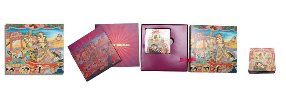 Gift set: Invite, Booklet & Coasters