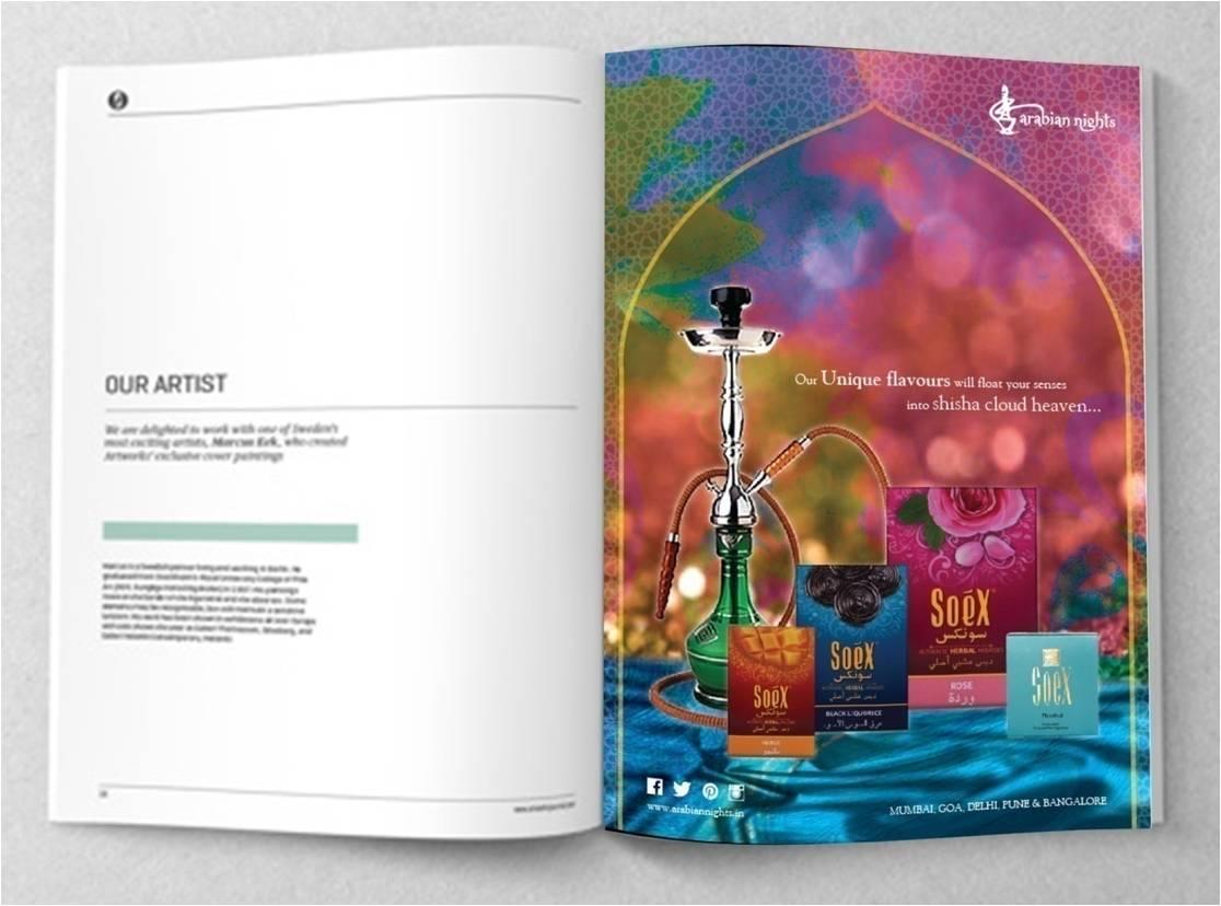 Arabian Nights Communication Design