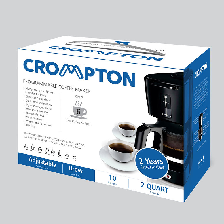 CROMPTON Appliance_coffee machine_Packag