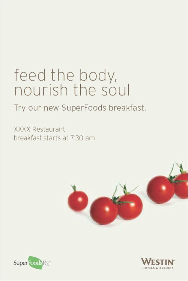 Super Food Elevator Poster