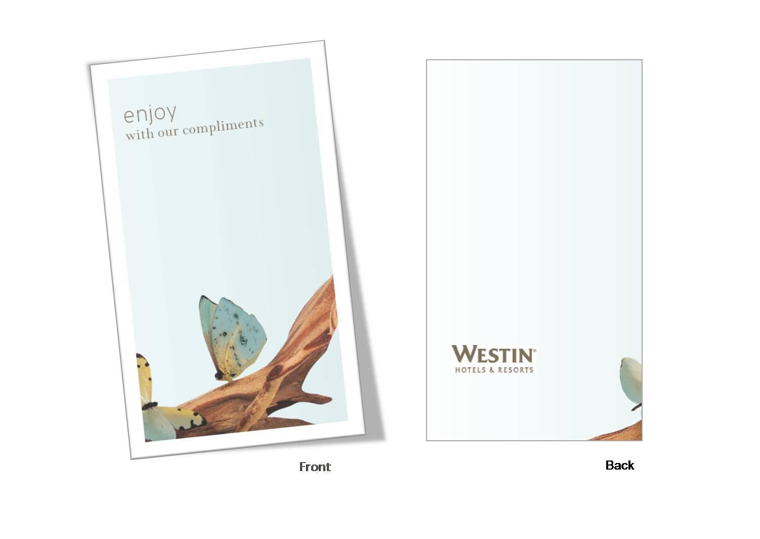 Complimentary Card