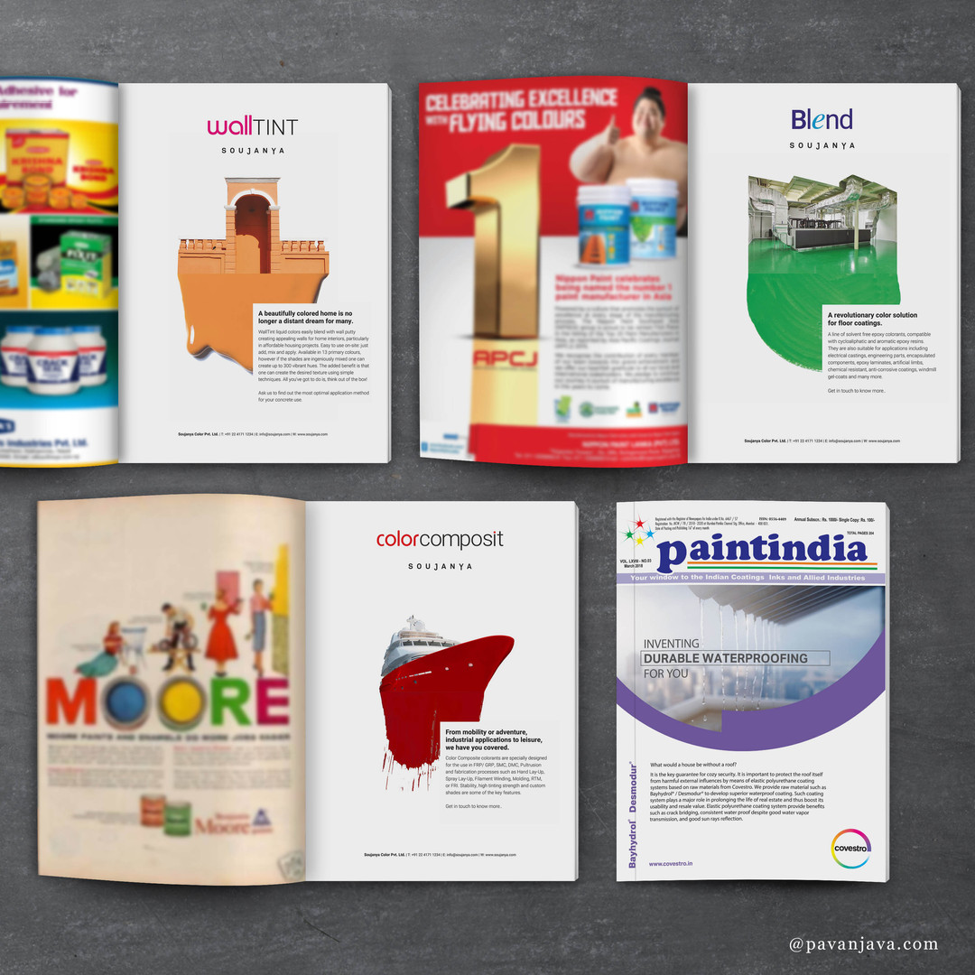 Individual Brand Ads For Colorants