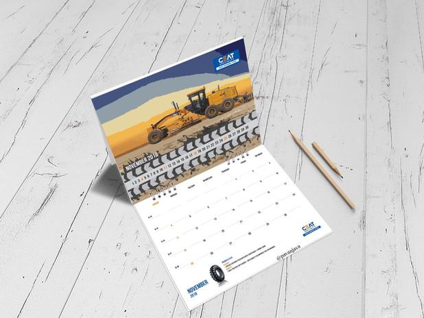 Ceat International OTR Desk Calendar 3