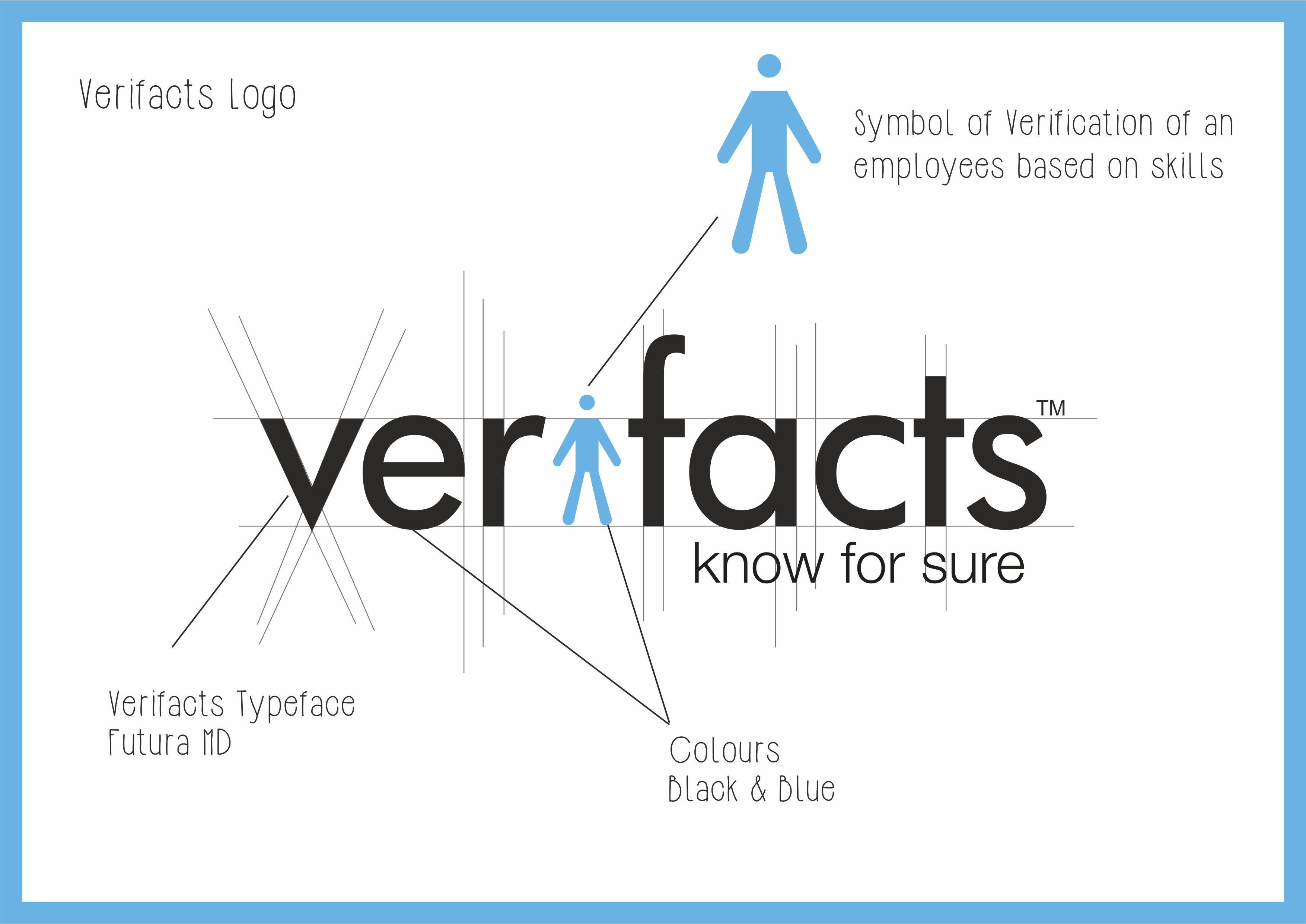 Verifacts BGV Logo explanation