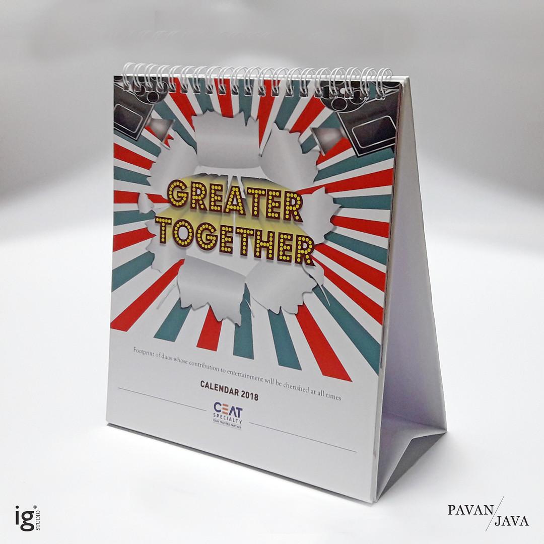 Ceat Domestic Desk Calendar 1