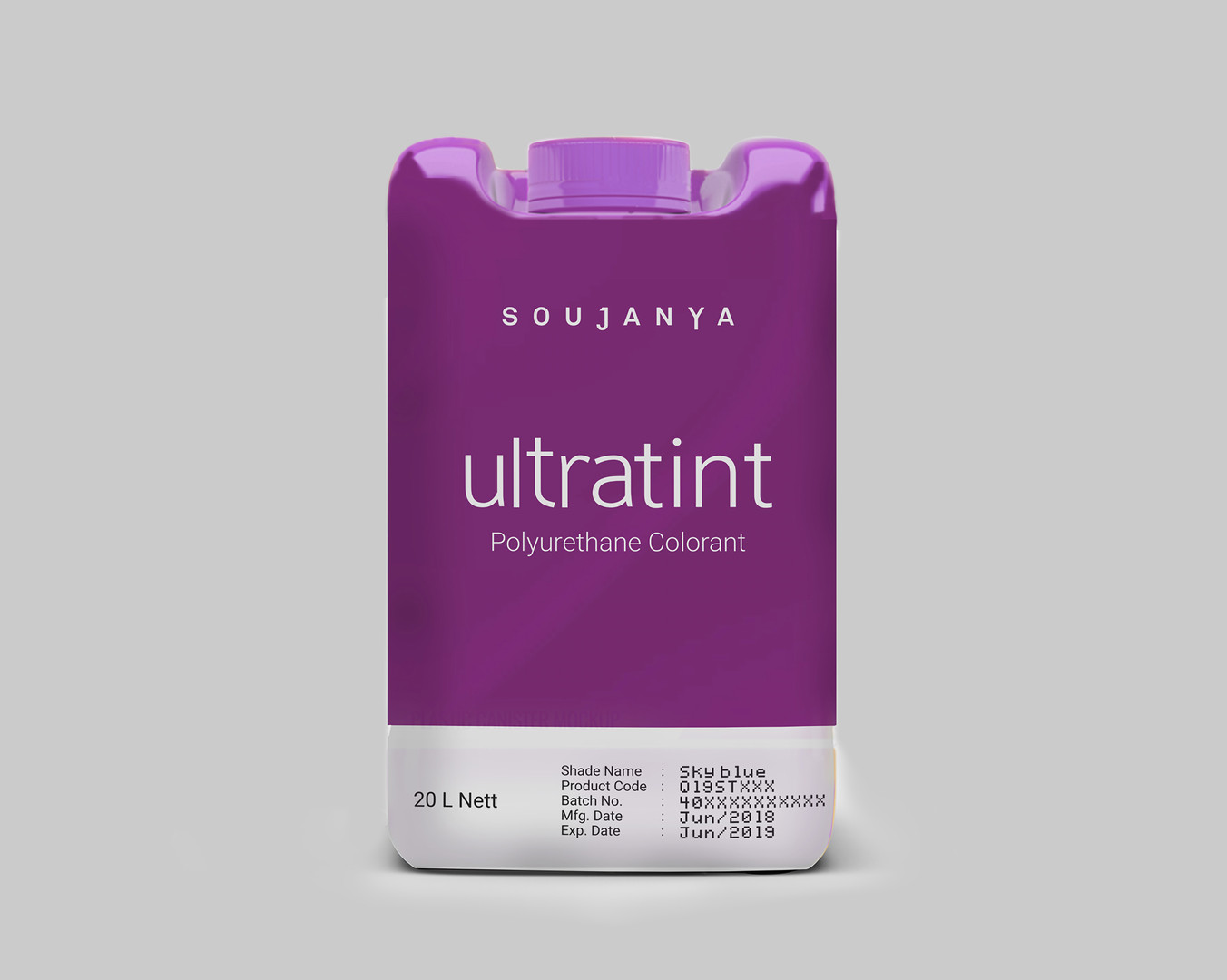 Ultratint Packaging