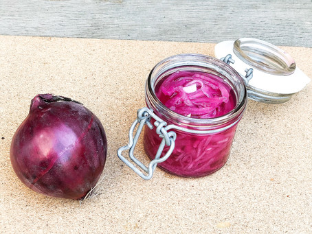 Pickled Red Onion - 5 Minutes
