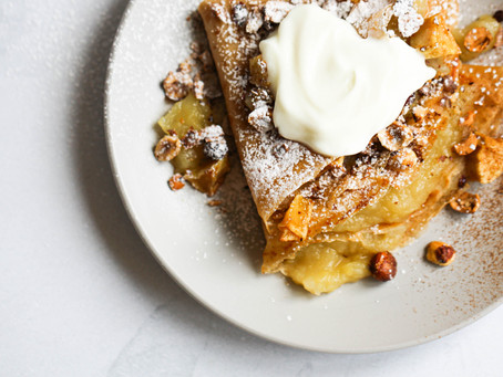 Apple and Pear French Toast Crêpes