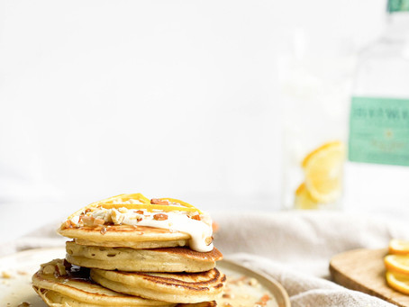 Tom Collins Gin Pancakes