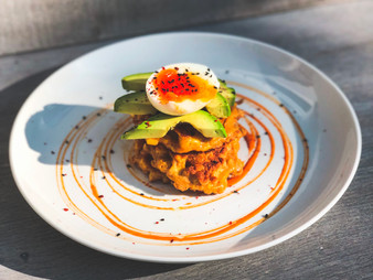 Spicy Sweetcorn Fritters