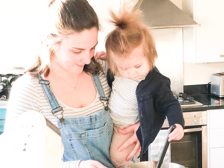 Are you ever too young to help in the kitchen?