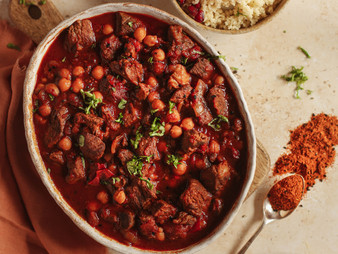 Two Hour Tender Lamb Tagine