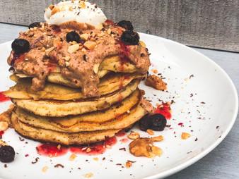 PB&J Pancake Stack