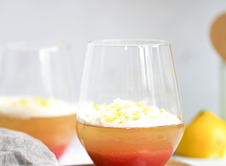Sparking Wine Jelly and Rhubarb