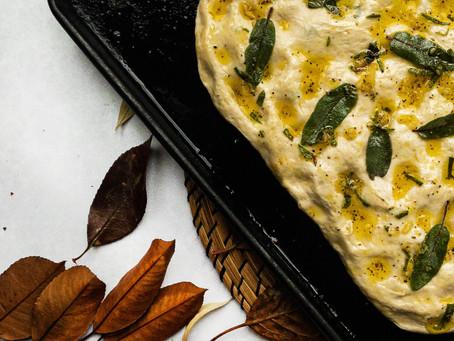 Garlic and Sage Focaccia
