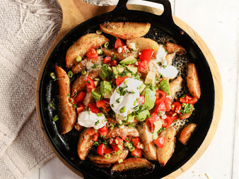 Nacho Inspired Topped Wedges