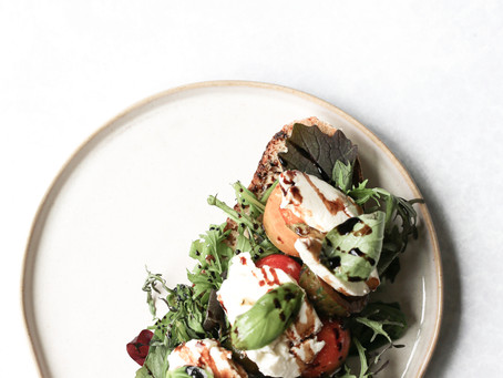 Caprese Salad Sourdough