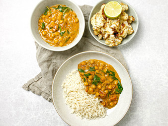 Chickpea Coconut Curry