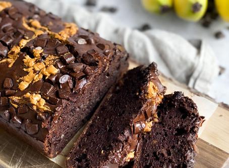 PB & Chocolate Banana Bread