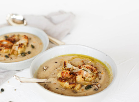 Beautifully British Cauliflower Soup