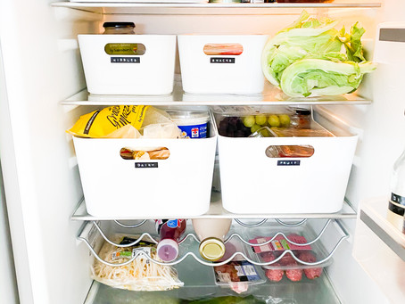 The easy way to organise your fridge