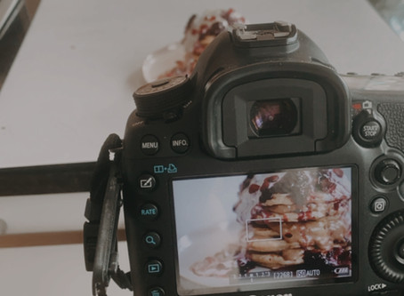 Food Photography: Swapping my iPhone to a Canon 5D