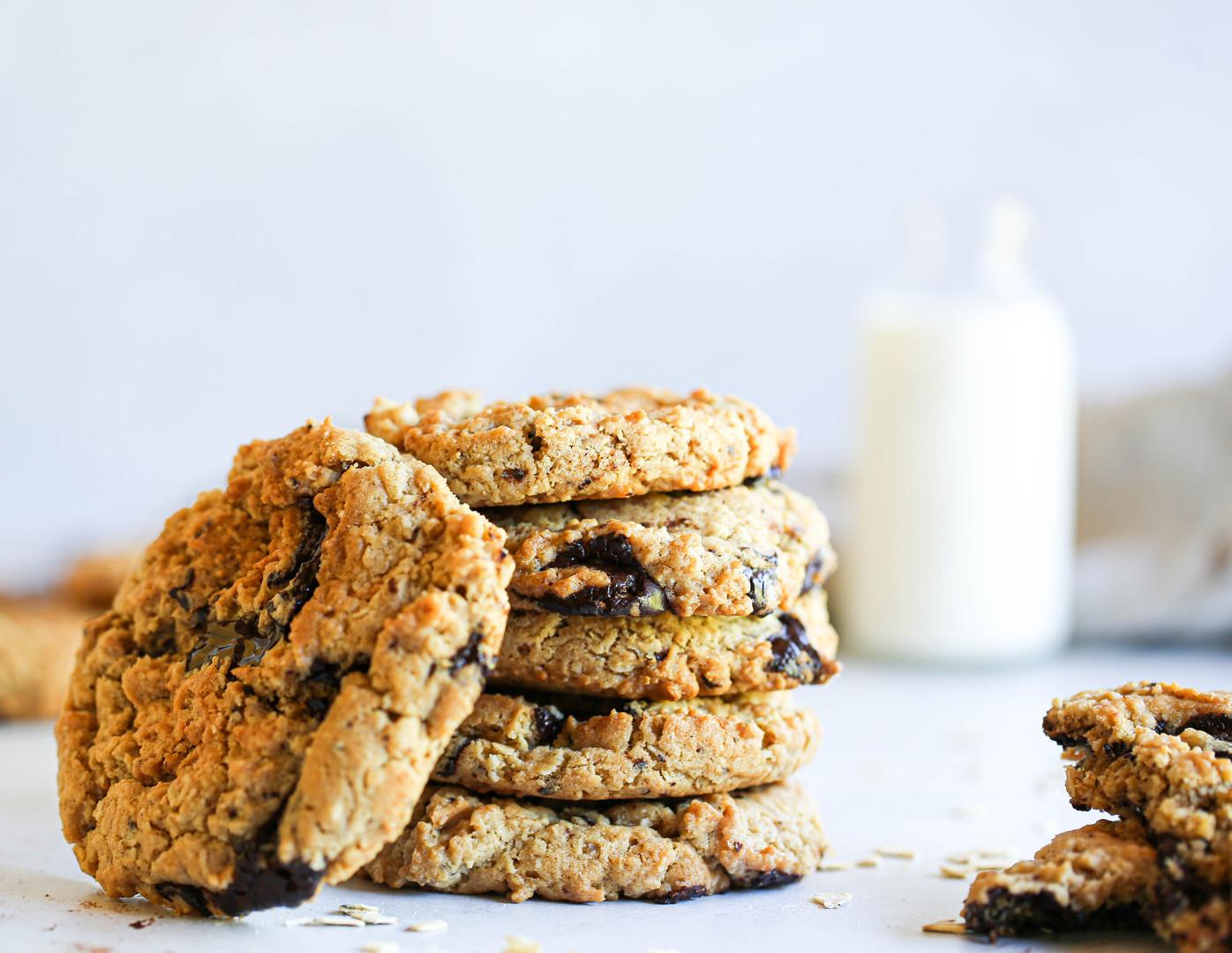 PB Oat Cookies