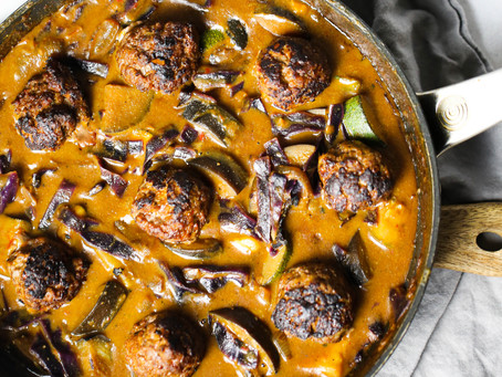 Beef Meatball Rendang Curry