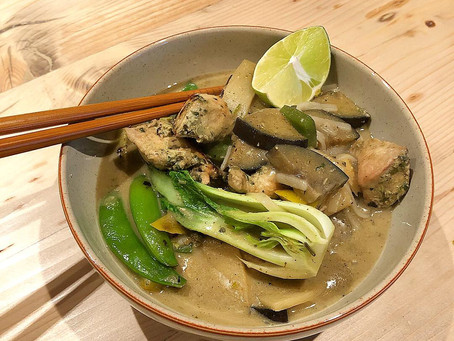 Thai Curry Noodle Soup in 30 Minutes