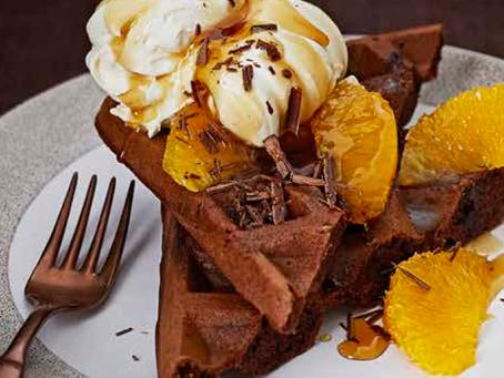 Choc Orange Waffles: BBC GoodFood Feature!